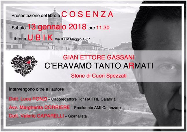 """ceravamo-tanto-armati A Cosenza si presenta il libro """"C'eravamo tanto aRmati"""""""