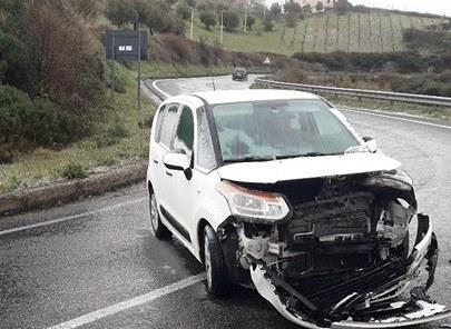 foto-incidente-26-febbraio Ancora incidenti sulla SS660 Acri-Cosenza #iononscivolopiù sollecita i lavori