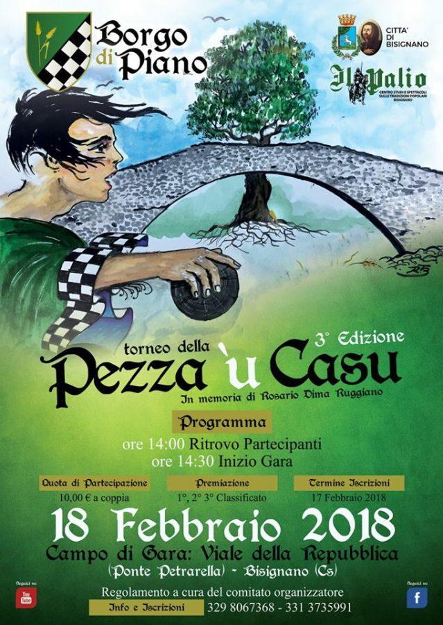 pezzaucasu-2018 Pezza 'u Casu 18 Febbraio 2018 al Ponte Petrarella (Piano)