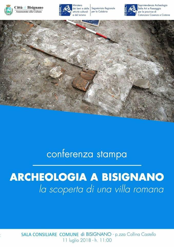 archeologia-conferenza Una villa Romana in contrada Squarcio: l'importante scoperta archeologica