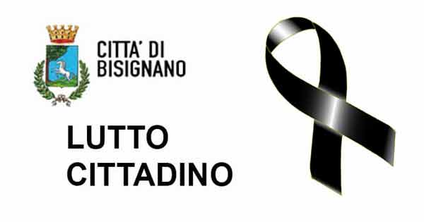 Lutto cittadino a Bisignano per Luigi Fumarola