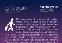 Coronavirus calabresi residenti al Nord