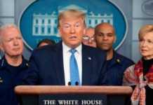 Donald Trump conferenza coronavirus