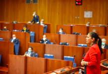 Santelli primo consiglio regionale Calabria