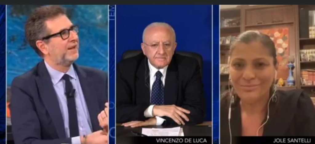 De Luca e Santelli Fabio Fazio